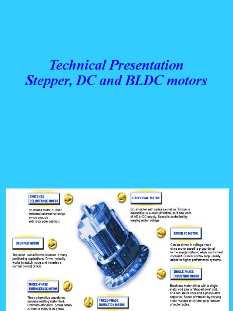 Motors - Stepper, BLDC, DCr | Machines | Electronics