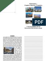 pellegrinaggio Pompei, Napoli, Caserta - 7:8 dic 2019