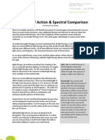AURA PTL Clinical Research (PTL Properties_Mode of Action_Spectral Comparison) 2-5-2011