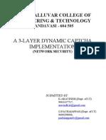 3 layer dynamic captcha