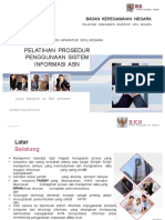 Materi Peserta - Pelatihan Penggunaan Prosedur Sistem Informasi ASN