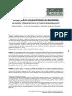 Mplicações Da Política de Avaliação Na Produção Da Qualidade Educacional