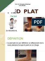 PIED  PLAT