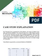 CASE STUDY-PERT MUSTANG