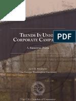 (Jarol B. Manheim) Trends in Union Corporate Campaign