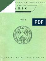 Fsi-ModernWrittenArabic-Volume1-StudentText