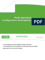 Configuration Smartphone Android 4g