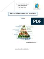 Cours Nutrition