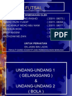 Undang-Undang Futsal 1 & 2