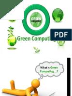 Green Computn Ppt