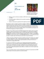REFORMA DE ESTRUCTURA DEL GOBIERNO DEL FMI