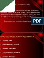 11. CONTRATO DE COMODATO y mutuo
