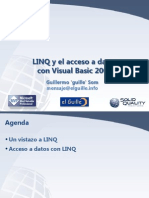 Linq y el acceso a datos en Visual Basic 2008