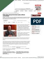 09-03-11 Falta visión para promocionar al país, afirman economistas