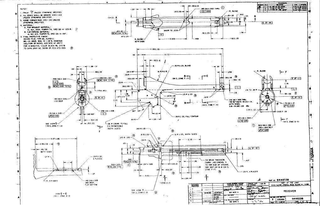 325 m203 blueprints for Arkansas blueprint