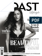 Coast Lifestyle Magazine March/April cover