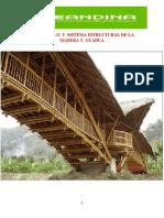 DESARROLLO  Y  SISTEMA ESTRUCTURAL DE LA         MADERA Y  GUADUA