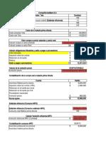 Costo estandar caso No 3 Ciclo contable completo
