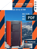 Perge Brochure Log Fired Heating Boilers