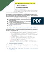 Tarea de Presupuesto Público. Los Clasificadores Presupuestarios. Darianny Ogando Sánchez 2-18-5585. (1)