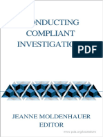 Conducting Compliant Investigations