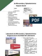 Impacto del Laboratorio de RF Microondas y Optoelectrónica
