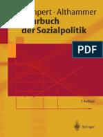 Heinz Lampert, Jörg Althammer - Lehrbuch der Sozialpolitik (7 Auflage) (2004)