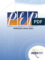 Proyecto Educativo Pastoral AVEC 2016-2021