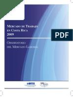 Mercado Laboral de Costa Rica 2009