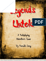 Legends Untold rulebook