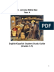 St Jerome Bible Bee Student Study Guide (Grades 3-5) eng-esp