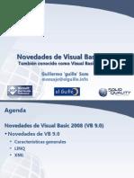 Novedades de Visual Basic 2008