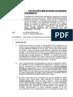 """INFORME DETENCION PRELIMINAR """"MARCAJE"""" - ROBO AGRAVADO"""
