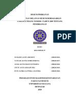 HUKUM PERIKATAN_ KELOMPOK IV_ UU PENERBANGAN ABSEN 16-20