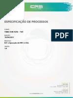 ECF Apuração IRPJ e CSLL - T4F