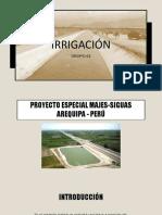 Irrigacion - Proyecto Majes
