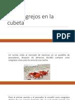Los cangrejos en la cubeta