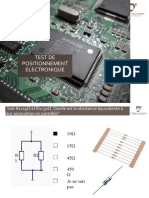 TEST DE POSITIONNEMENT ELECTRONIQUE