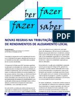 PDF104 -2017- Tributação de alojamento local