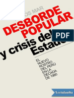 Desborde popular y crisis del Estado - Jose Matos Mar