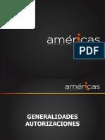 GENERALIDADES DE AUTORIZACIONES, TRASLADOS, REFERENCIA