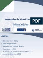 Novedades de Visual Studio 2008