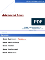 Advanced Lean Training Manual Band 4