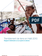 First Anniversary Haiti EQ Operation Report_FR