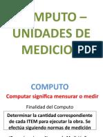 UNIDADES DE MEDICION - OBRAS ARQUITECTURA