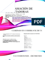 clase-Unidad2 -IF-SWITCH