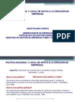 MARCO LEGAL A LA CREACION DE EMP.