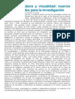 Mascioto  - Prensa, literatura y visualidad