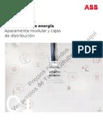 Volumen1_2020. Aparamenta Modular y Cajas