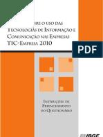 Manual TIC- Empresa 2008